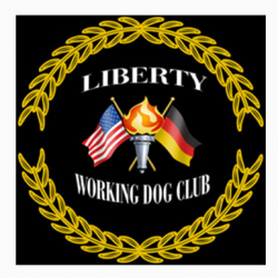New dog website design for the Liberty Working Dog Club